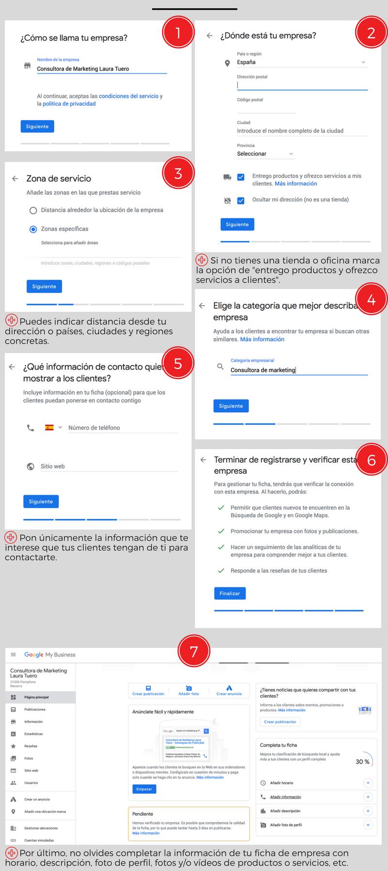 Cómo registrarse en Google mi negocio